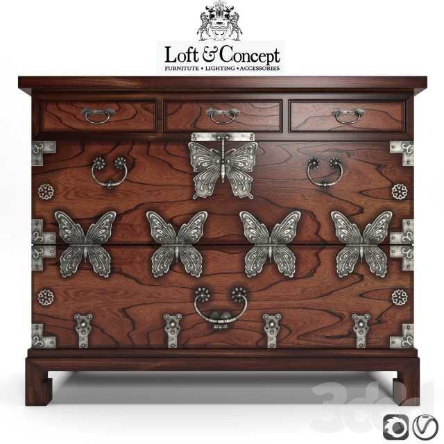 CHINOISERIE_CHEST _OF_DRAWERS_BUTTERFLY