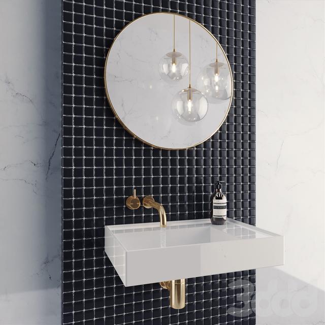 Bathroom Set + Squirt water