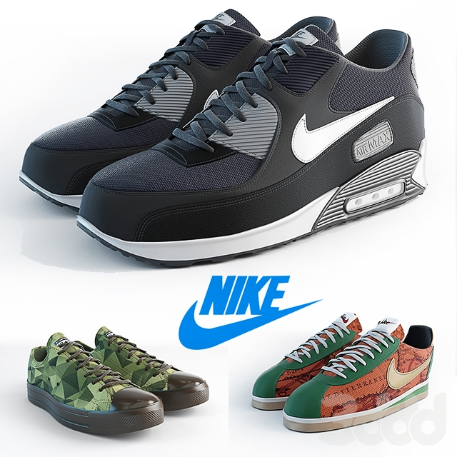 Nike - 50 оттенков разного