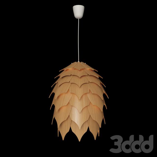 Подвесной светильник из дерева ПАНГО