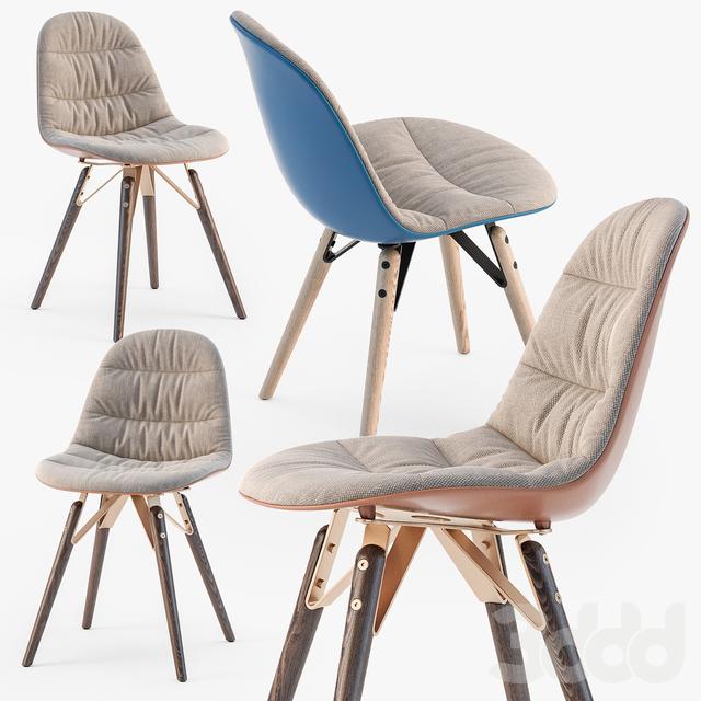 Bontempi Mood covered chair