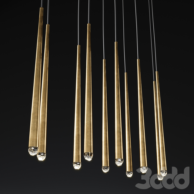AQUITAINE LINEAR CHANDELIER