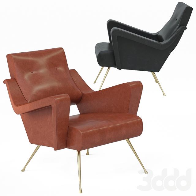 The Alec Club Chair by Van Den Akker