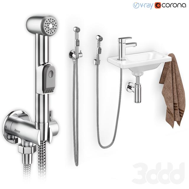 Гигиенический душ с умывальником Ravak