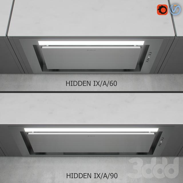 Elica - HIDDEN IX/A/60 + IX/A/90