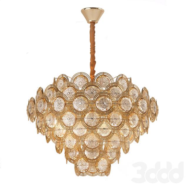 Opera Square Pendant Lamp b
