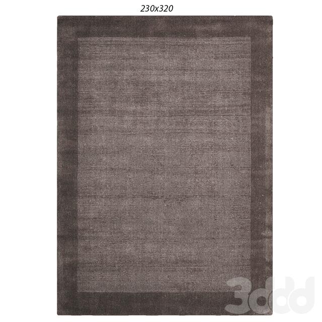 Temple and webster:Elegant Grey Cut & Loop Pile Rug