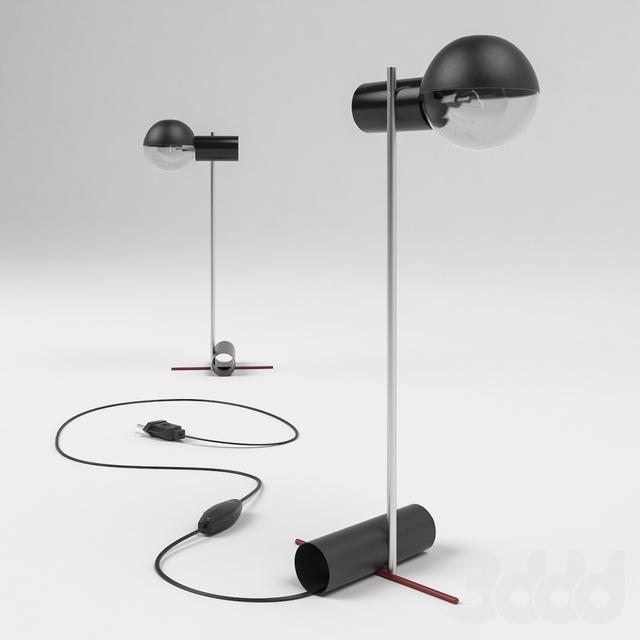 Hanging Lamp Gerrit Rietveld: 3d модели: Настольные светильники