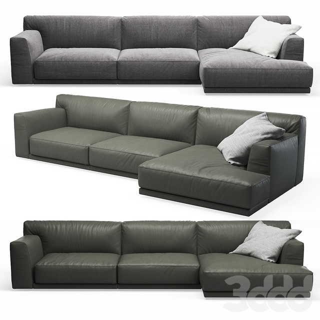 Seoul Poliform Corner Sofa