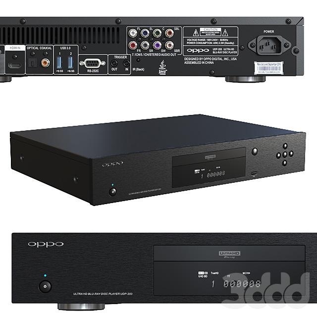 Blu-ray плеєр OPPO UDP-203.