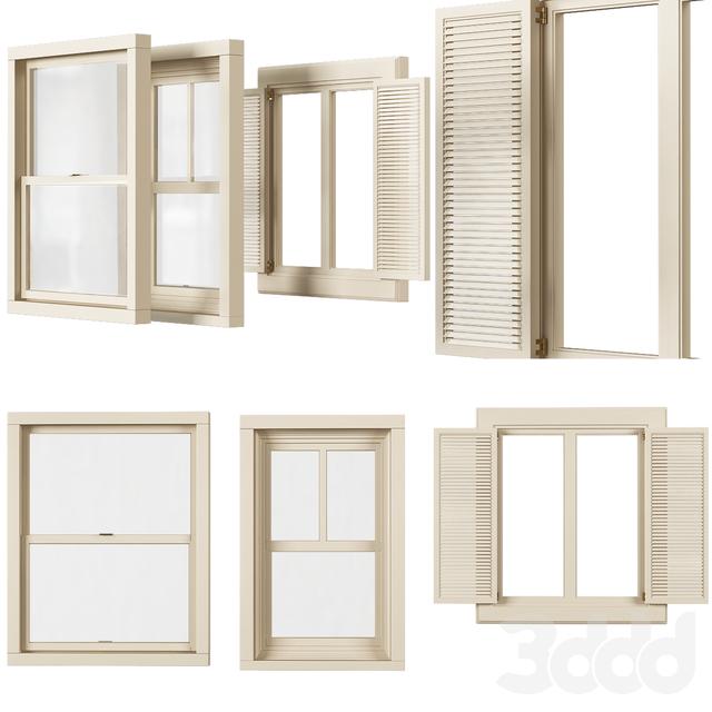 Entrance window № 005