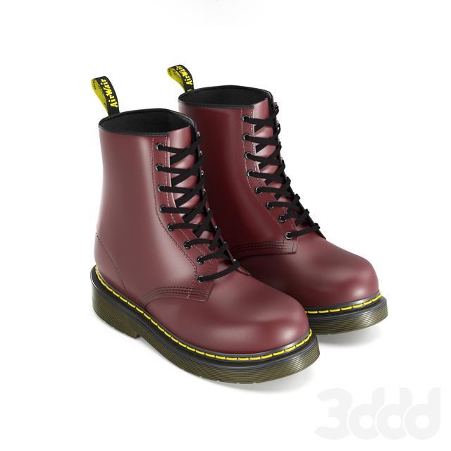 3d модели  Одежда и обувь - dr martens 1460 e18b3446490e2
