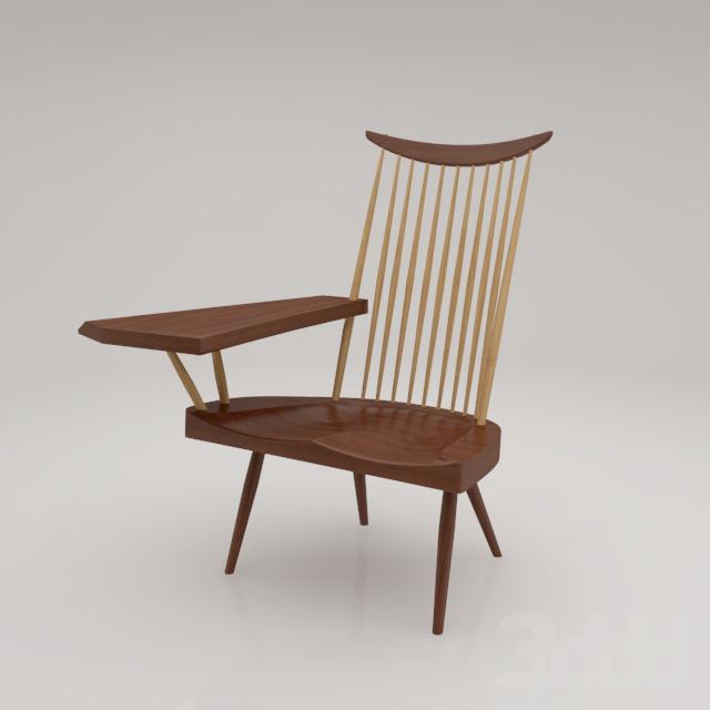 CN103 Lounge Arm Chair by George Nakashima
