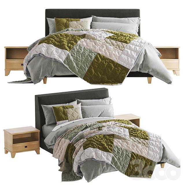 Riley Upholstered Bed
