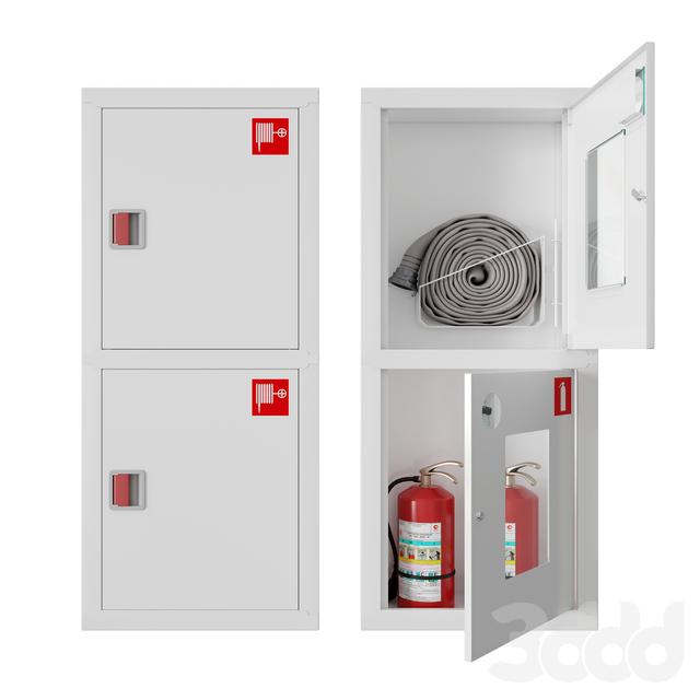 Встроенные пожарные шкафы