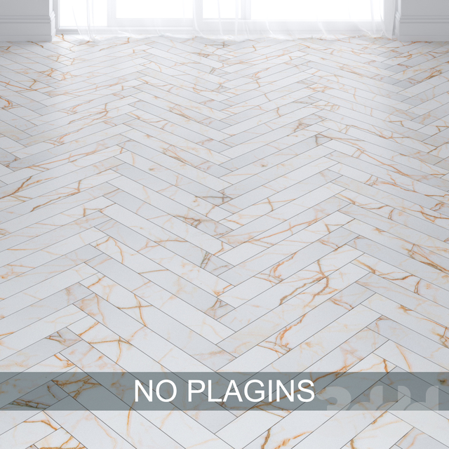 White With Gold Marble Tiles in 2 types