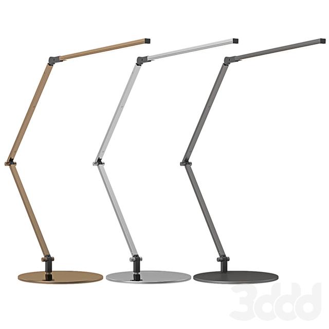 Z Bar Table Lamp: 3d модели: Настольные светильники
