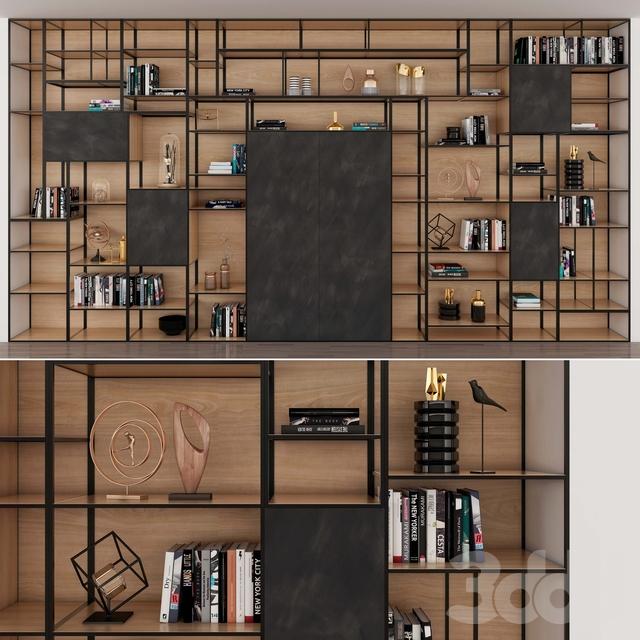 H01 Heartwood Open Shelves