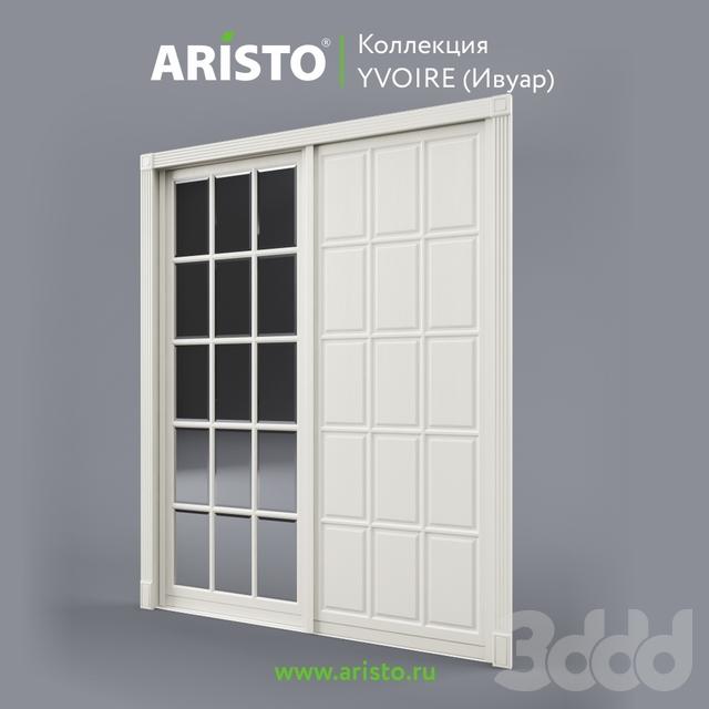 OM Раздвижные двери ARISTO, Ivoire, Yv.100.3, Yv.100.2