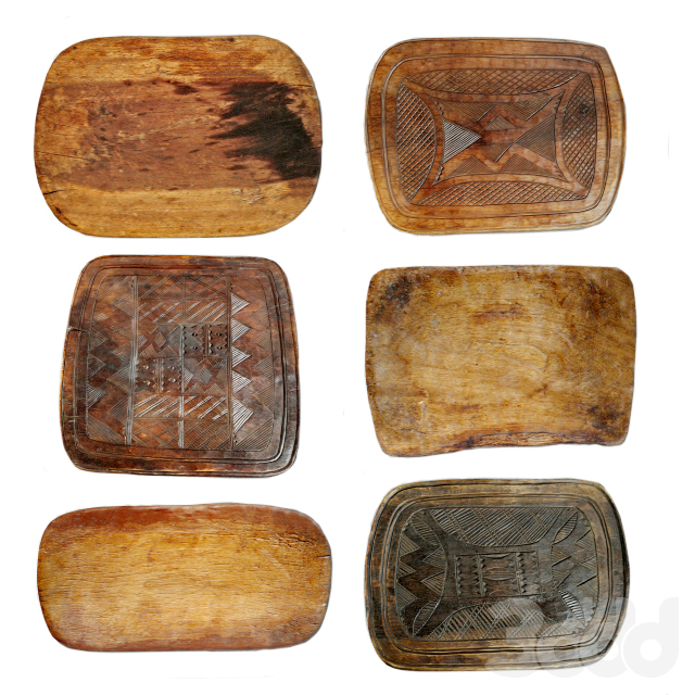 Tribal Wood Decor