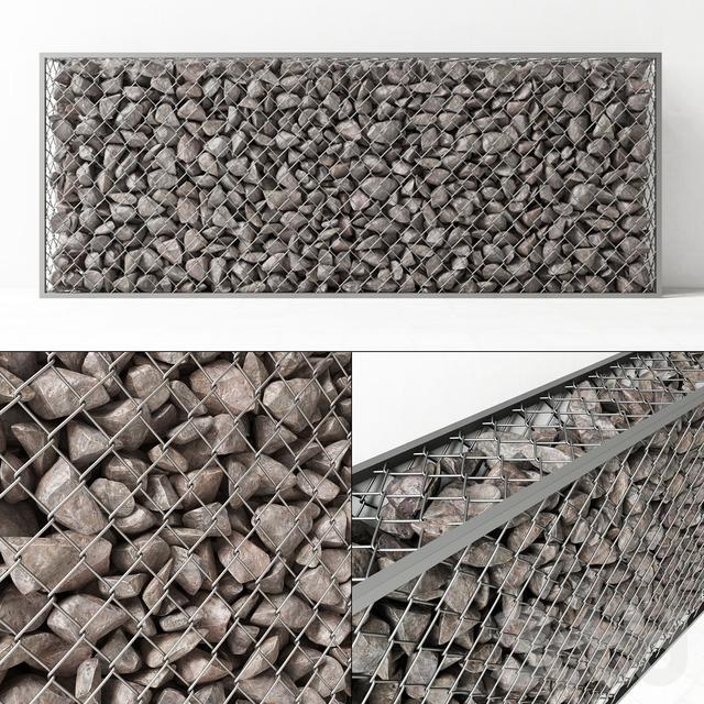 Gabion rock stone / Габион из скального камня