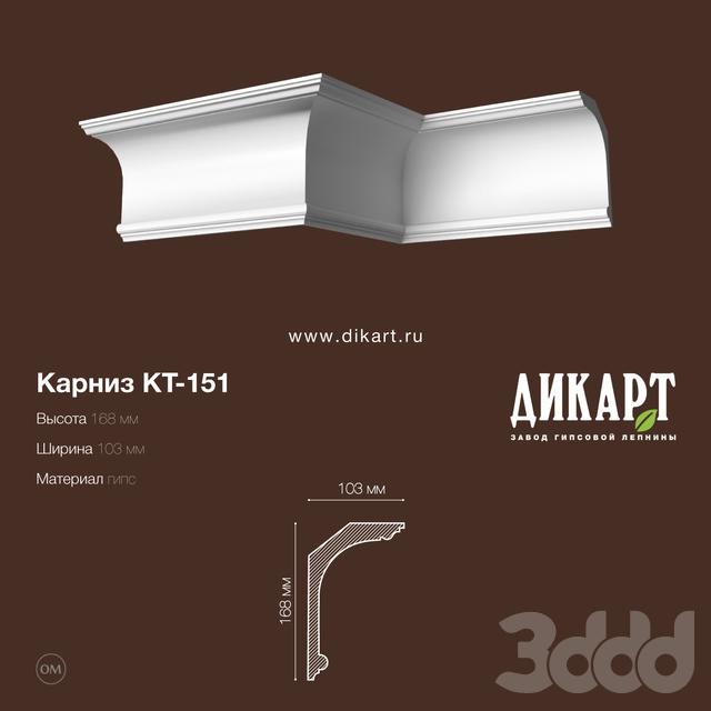 www.dikart.ru Кт-151 168Hx103mm 15.7.2019