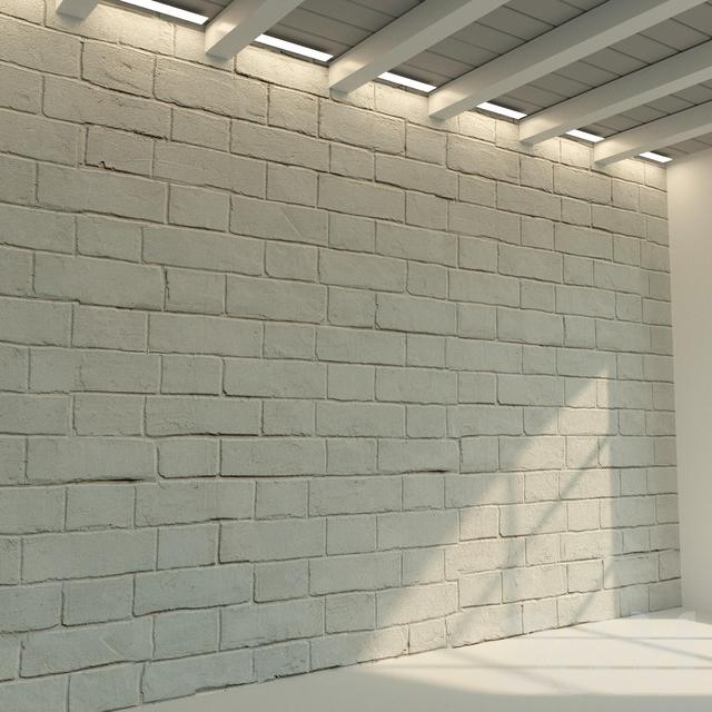 Кирпичная стена. Старый кирпич. 72