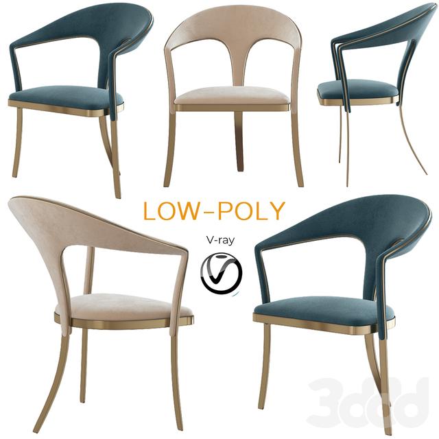 Brass Vidal Grau Cosmos Chairs (low poly)