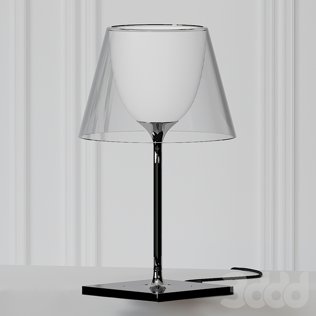 KTribe Table 1 Glass by Philippe Starck
