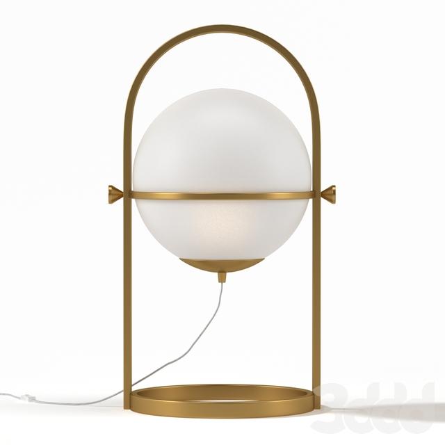 Kare Table Lamp Swing Jazz Ball