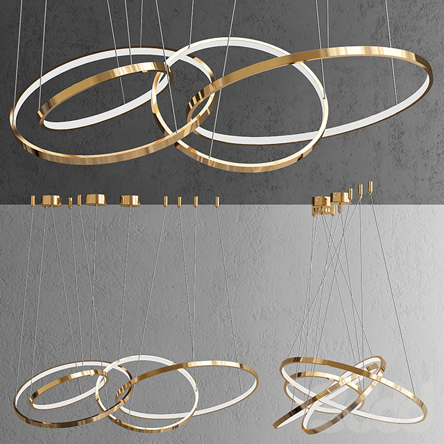 Люстра ORACLE 4 Rings