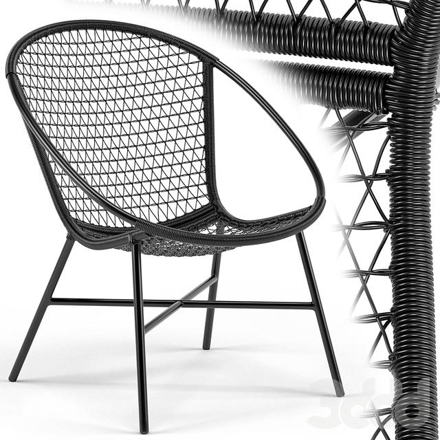 Sala Graphite Lounge Chair