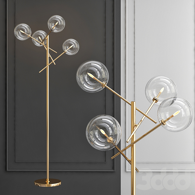 Торшер Gallotti & Radice Bolle floor lamp