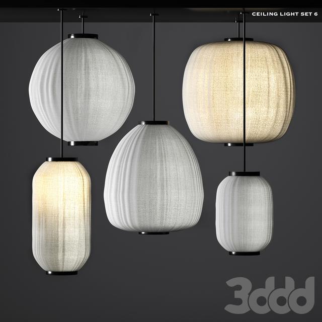 ceiling light set 6
