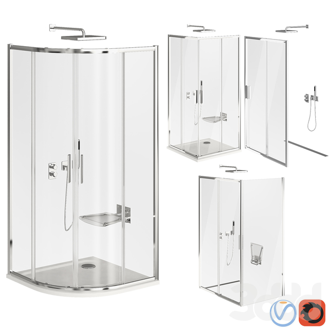 Ravak Blix Slim Shower Cabin