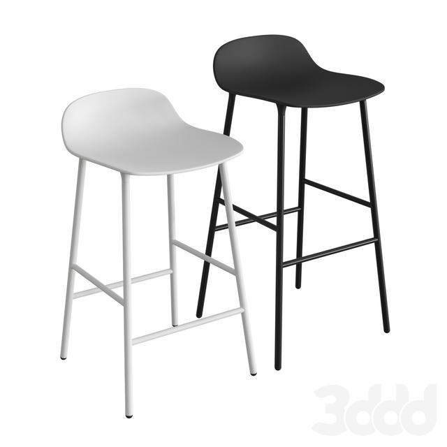 Form Steel Barstool