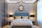 Дизайн спальной комнаты в жк Crocus syti в Астане