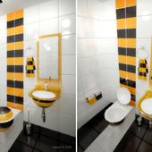 туалет в стиле Beeline