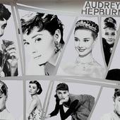 постер с Одри Хепберн