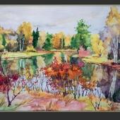 Осенне озеро