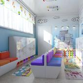 Раздевалка в детском саду