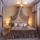 Женская спальня. Коммерческий виз.
