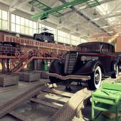 Сборочный цех автомобиля ГАЗ-М1