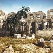 Храм Карнак, руины