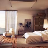 Спальня на берегу