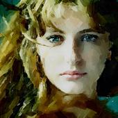 Портрет девушки (этюд, акварель)