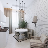 Дизайн квартиры. лофт