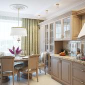 кухня легкая классика