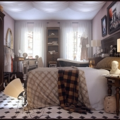 Спальня девушки
