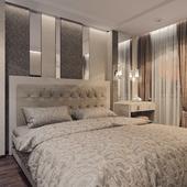 Спальня для молодой пары, два варианта